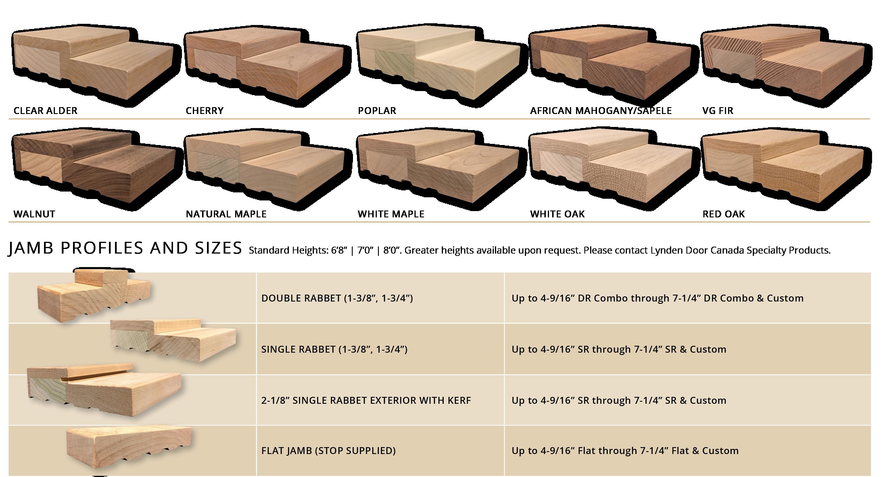 LDC SP Hardwood Jambs